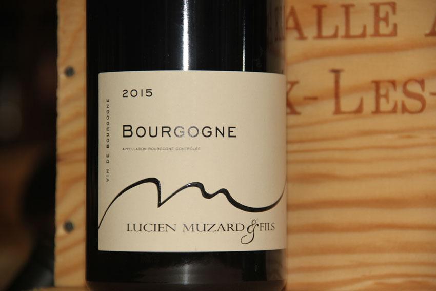 Vin Bourgogne - Lucien Muzard