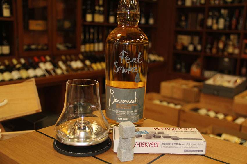 Whisky Peat Smoke Benromach